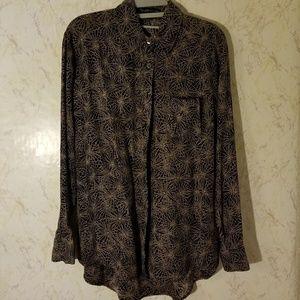 Elizabeth and James Button-up Top